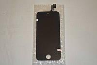 Оригинальный дисплей (модуль) + тачскрин (сенсор) для Apple iPhone 5S   SE (черный цвет)
