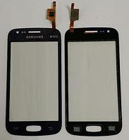 Тачскрин / сенсор (сенсорное стекло) для Samsung Galaxy Ace 3 S7270 | S7272 | S7275 (темно-синий цвет)
