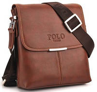 "Кожаная сумка ""POLO"" подарок НОВИНКА!"