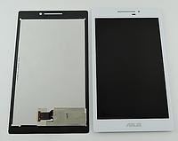 Оригинальный дисплей (модуль) + тачскрин (сенсор) для Asus ZenPad 7.0 Z370 Z370C Z370CG (белый цвет)
