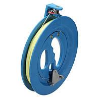 Круглый синий АБС пластик 18см кайт барабана моталки с 220м соединительной линии