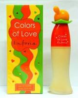 Женская туалетная вода colors of love euphoria 65 ml