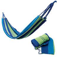 Открытый кемпинг гамак портативный путешествия пляж ткань качания кровати