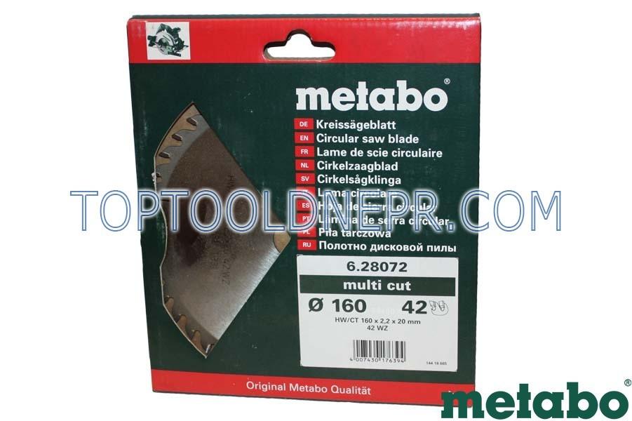 Пильный диск metabo 160x20x48Z