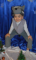 Новогодний костюм серого Волка для мальчика