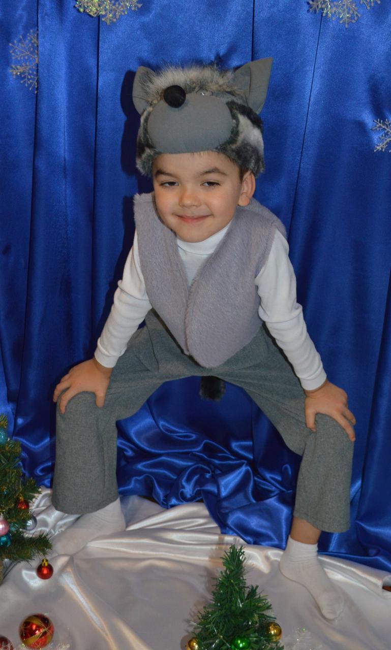 Новогодний костюм серого Волка для мальчика: продажа, цена ... - photo#2
