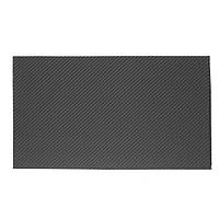 420x250x0.4mm Углеродное волокно Пластина Черное 3K Twill Matte Panel Sheet Board