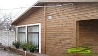 Отделка дома  деревом: облицовка фасада, фото 1