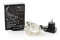 Гирлянда-пучок 8 линий по 1.1 метр, 20 диодов/ нить, цвет - тёплый белый, постоянное свечение BonaDi 830-300