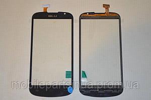 Тачскрин / сенсор (сенсорное стекло) для Highscreen Alpha Rage (черный цвет) + СКОТЧ В ПОДАРОК