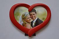 Фоторамка YW-800 сердце красная
