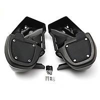 Нижняя выпуклая стойка для ног C 6.5inch Speaker Коробка Pod Для Harley Touring Glide FL