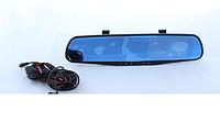 Автомобильный видеорегистратор. Зеркало регистратор с Одной камерой DVR 138W 3,8` one camera (Gold)
