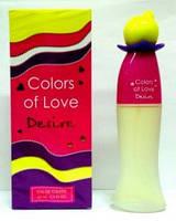 Женская туалетная вода colors of love desire 65 ml