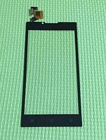 Оригинальный тачскрин / сенсор (сенсорное стекло) для Doogee Turbo DG2014 (черный цвет)