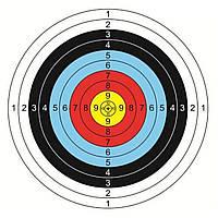 20pcs 40x40cm Стрельба из лука Целевая линия подходит для луков и арбалетов Тяжелый калибр