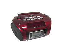 Бумбокс радиоприемник MP3 Golon RX 662Q Red, портативная акустика
