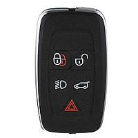 5КнопкиЧерныйДистанционныйБрелокдля ключей Чехол Шелл для ЗЕМЛИ Range Rover / Sport 2010-2012