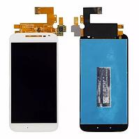 Оригинальный дисплей модуль + тачскрин сенсор Motorola Moto G4 XT1620 XT1621 XT1622 XT1624 XT1625 XT1626 белый