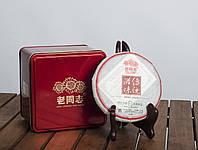 Китайский черный чай - Шу пуэр Хайвань ЛаоТун Чжи «ЧхуаньТун Джи Вей», 2012 г., 125 г