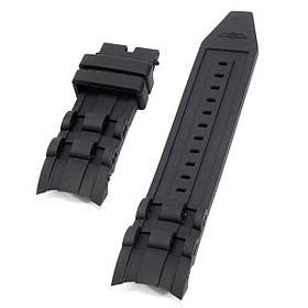 Замена 220мм 26мм Черные резиновые часы Стандарты Ремень для Invicta Pro Diver-1TopShop