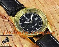Мужские наручные часы Rolex Oyster Perpetual Date Just с календарем кварцевыя кожа Япония