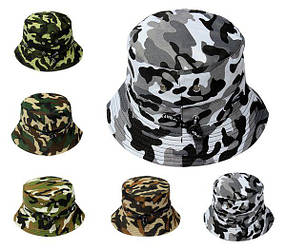 Ведро камуфляж шляпа boonie открытый отдых туризм солнечной шапка унисекс мужчин женщин