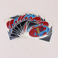 Пластиковый прозрачный водонепроницаемый Уно карточная игра семейный развлекательный покер карты