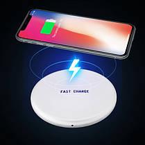 Bakeey Qi Беспроводное зарядное устройство с индикатором LED для iPhone X 8Plus Samsung S8 S7 Note 8, фото 2