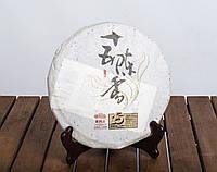 Китайский черный чай -Шу пуэр Хайвань Лао Тун Чжи «Ши У Чень Сян», 2014 г., 370 г