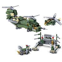 Рождество16PCSполевыхсилсобраныстроительные блоки игрушки Военный модель для детей детский подарок