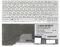Клавиатура для ноутбука Acer 531 A110 A150 D150 D210 D250 P531 ZG5 ZG8 LT20 eM250 (русская раскладка, белый)