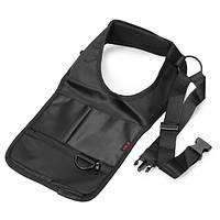 Анти-кражи скрытой подмышечной кобуры сумка черный нейлон