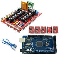 Пандусы 1.4 контроллер 2560 R3 на плате управления a4988 драйвер набора для 3D принтера