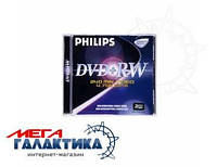 Диск DVD+RW Philips 4.7GB 8x