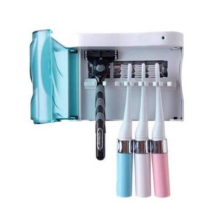 Зубная щетка стерилизатор УФ обеззараживания стерилизации держатель зубной щетки, фото 2