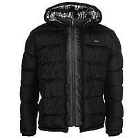 Куртка Lee Cooper 2 Zip Bubble Jacket Mens