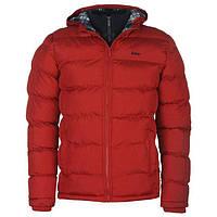 Куртка Lee Cooper 2 Zip Bubble Jacket Mens L