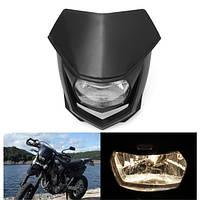12V 8000lm мотоцикл Головка Лампа Вт/High Low Beam Enduro Dirt Bike Headlight Universal