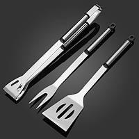 3шт из нержавеющей стали для барбекю инструменты поставки открытый кемпинг инструменты