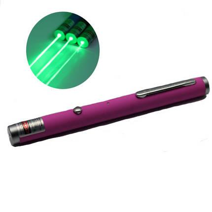 ЛТ-zs006 USB зарядка 532 нм зеленая лазерная указка(1/5 МВт), фото 2