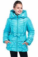 Теплая зимняя курточка силиконизированом синтепоне