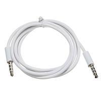 4-полюсный 1м 3.5 мужчина запись автомобиль AUX кабель наушников аудио кабель подключения