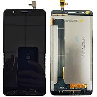 Оригинальный дисплей (модуль) + тачскрин (сенсор) для Oukitel U16 Max (черный цвет)