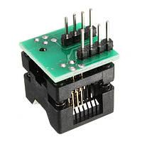 SOIC8 SOP8 К DIP8 EZ Разъем Адаптер модуля адаптера модуля с 150 милями