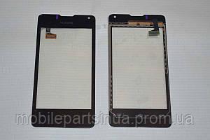 Оригинальный тачскрин / сенсор (сенсорное стекло) для Huawei U8833 Ascend Y300 | Ascend Y300D (черный цвет)