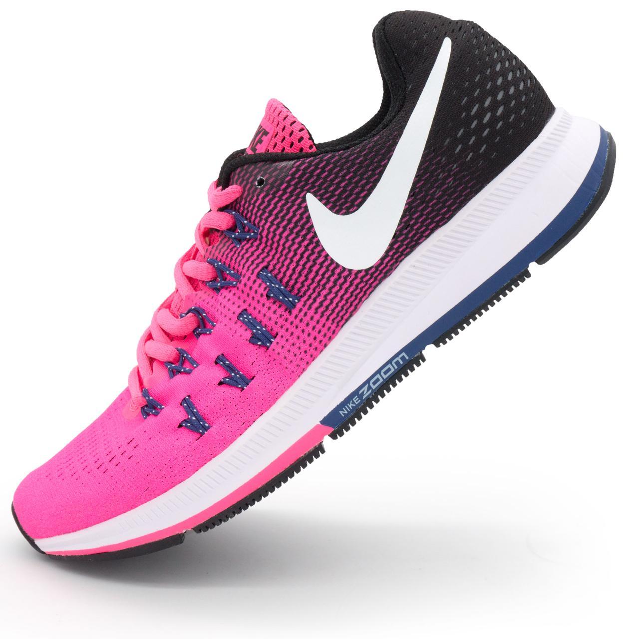 0ca6ae8c Женские кроссовки для бега Nike Zoom Pegasus 33 Розовые. Топ качество! р.(
