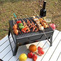 Для барбекю на открытом воздухе портативный гриль на углях бытовой складной шкаф гриль