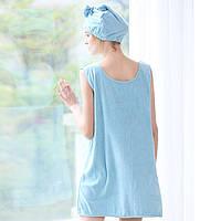 Honana BX-R968 Soft Халат Женское Ванна Платье Микрофибра Уютная спа-ванна с ванной