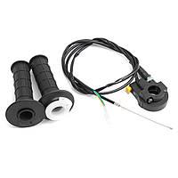 49cc 7/8inch Twist Throttle Hand Grip Cable Ignition Убейте для Pocket Mini Bike